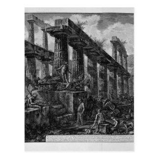 Carte Postale Restes du temple de la cellule Giovanni du ` s de