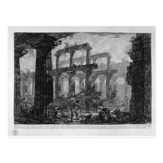 Carte Postale Restes du temple de la même cellule par Giovanni