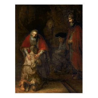 Carte Postale Retour du fils prodigue, c.1668-69