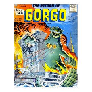 Carte Postale Retours de Gorgo