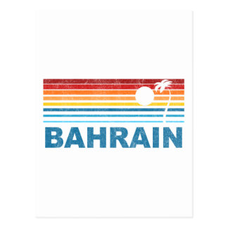 Carte Postale Rétro palmier Bahrain