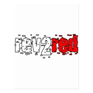 Carte Postale Rév. 2 rouge