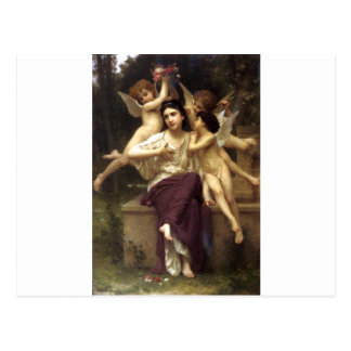 Carte Postale Rêve de ressort par William-Adolphe Bouguereau