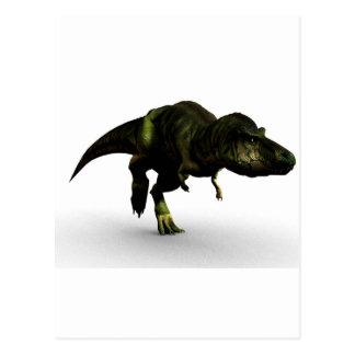 Carte Postale rex de tyrannosaurus