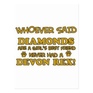 Carte Postale rex du Devon meilleur que des diamants