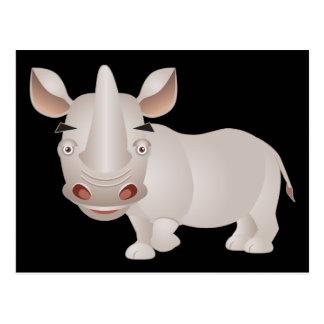 Carte Postale Rhinocéros de bébé