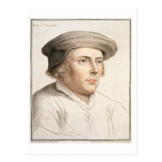 Carte Postale Riches de Richard, premier engra de baron Rich