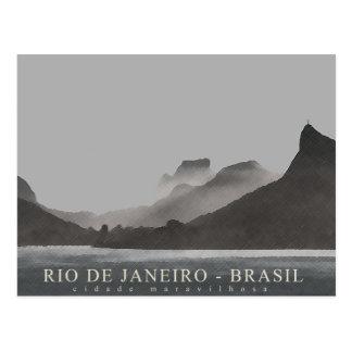 Carte Postale Rio de Janeiro, Brésil