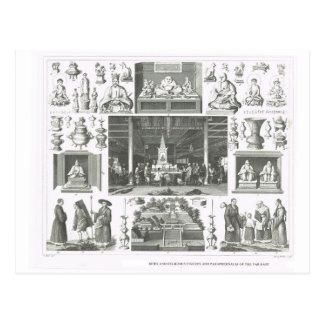 Carte Postale Rites religieux de l'Extrême Orient