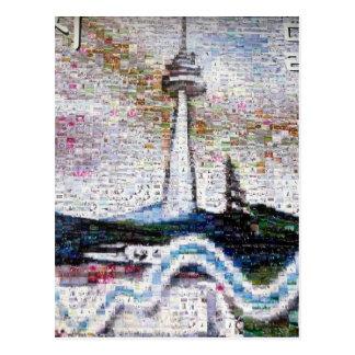 Carte Postale rivière de tour de Séoul