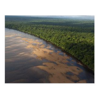 Carte Postale Rivière d'Essequibo, plus longue rivière en