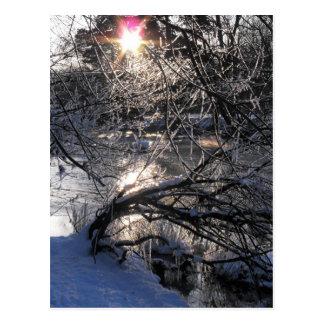 Carte Postale Rivière froide Hafren