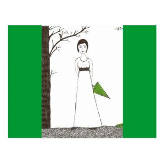Carte Postale Riz de Jane Austen