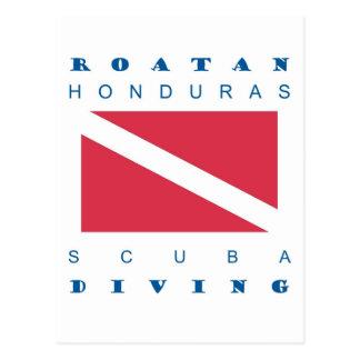 Carte Postale Roatan Honduras