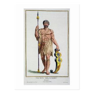 Carte Postale Robe d'un guerrier breton de 'DES Estamp de