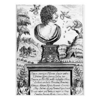 Carte Postale Robert Herrick, gravé par l'artiste