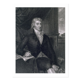 Carte Postale Robert R. Livingston, gravé par E. le Mackenzie