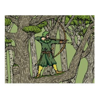 Carte Postale Robin Hood