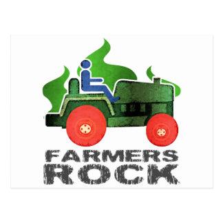 Carte Postale Roche d'agriculteurs