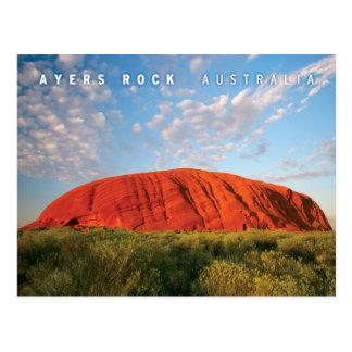 Carte Postale roche d'ayers en australie