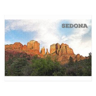 Carte Postale Roche de cathédrale - Sedona, AZ