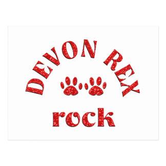 Carte Postale Roche de Devon Rex
