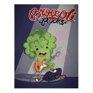 Carte Postale Roches de brocoli