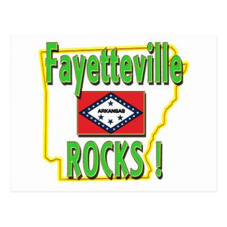 Carte Postale Roches de Fayetteville ! (vert)