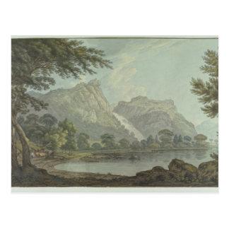 Carte Postale Roches de Lodore - chute et distance de cottage