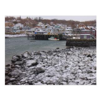 Carte Postale Roches de Milou de port de Rockport