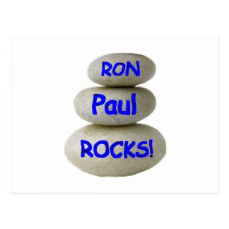 Carte Postale Roches de Ron Paul !