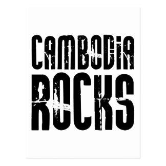 Carte Postale Roches du Cambodge