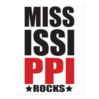 Carte Postale Roches du Mississippi ! Cadeaux et habillement