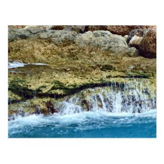 Carte Postale Roches lavées par mer