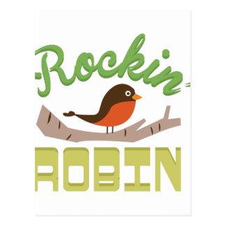 Carte Postale Rockin Robin