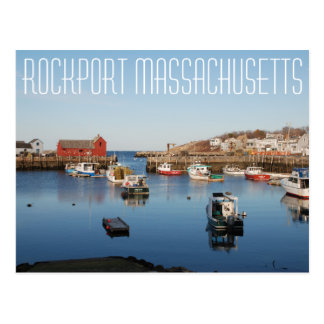 Carte Postale Rockport le Massachusetts