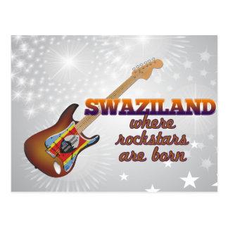 Carte Postale Rockstars sont né au Souaziland