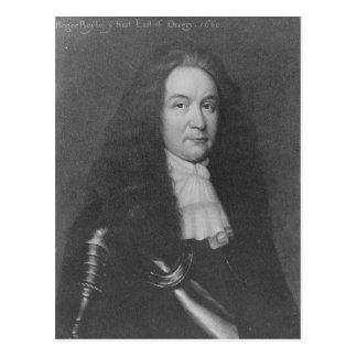 Carte Postale Roger Boyle, ęr comte de planétaire