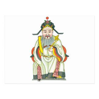 Carte Postale Roi de dragon de Tho des mers occidentales