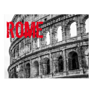 Carte postale romaine de Colosseum