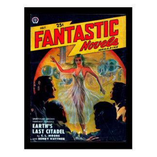 Carte Postale Romans fantastiques - art 1950.72_Pulp