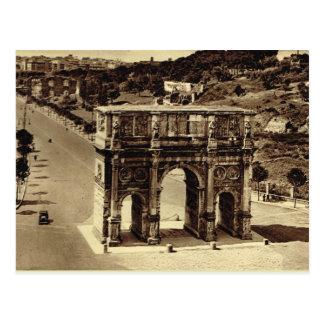 Carte Postale Rome, voûte de Constantine