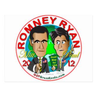 Carte Postale Romney Ryan