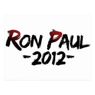 Carte Postale Ron Paul 2012 ! ! !
