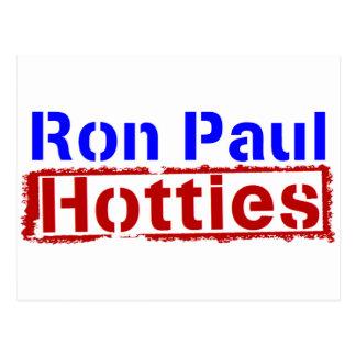 Carte Postale Ron Paul Hotties