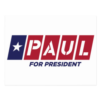 Carte Postale Ron Paul pour le président