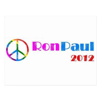 Carte Postale Ron Paul pour le président 2012