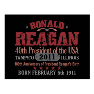 Carte Postale Ronald Reagan