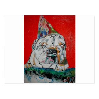 Carte Postale Roscoe le chien