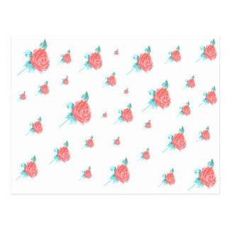 Carte Postale Roses rouges
